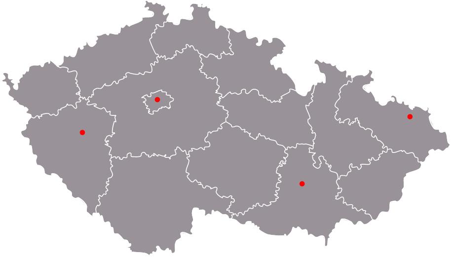 mapa_poboček